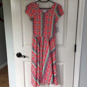 LulaRoe Girls Lucy Dress Size 12/14